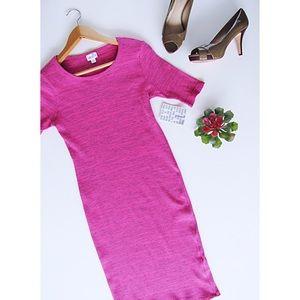 NWT Pink LulaRoe Julia Dress Size L